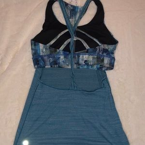 caa4c709c5 lululemon athletica Tops - Twist   Toil Tank Medium Support For A C D Cup